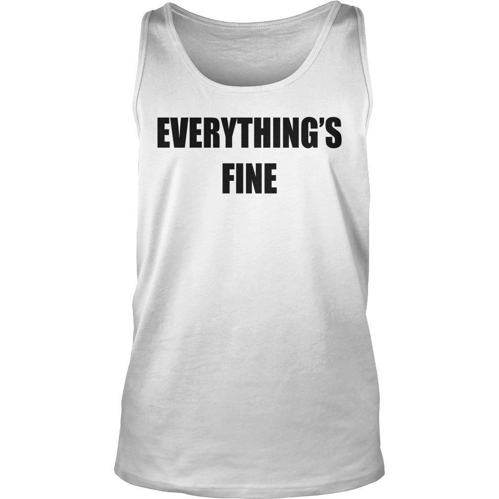 Sarah Cooper Everything's Fine Tank Top