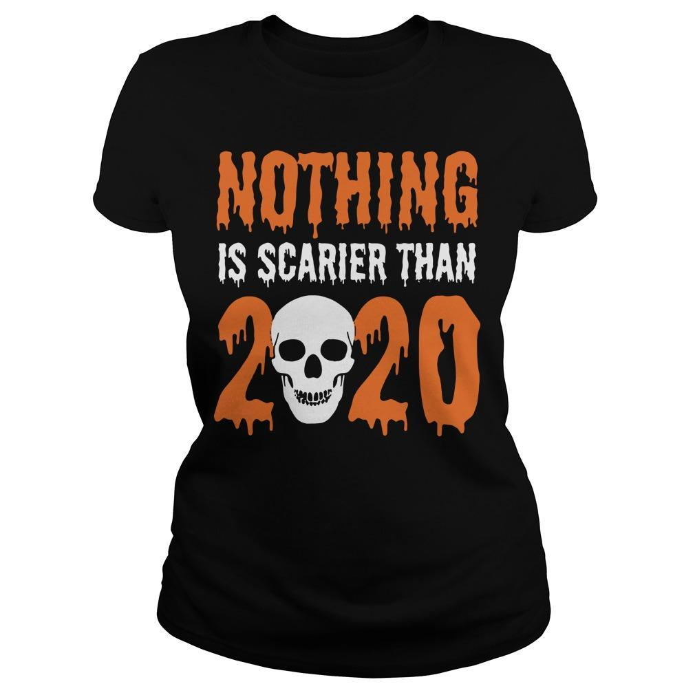 Skull Nothing Is Scarier Than 2020 Longsleeve