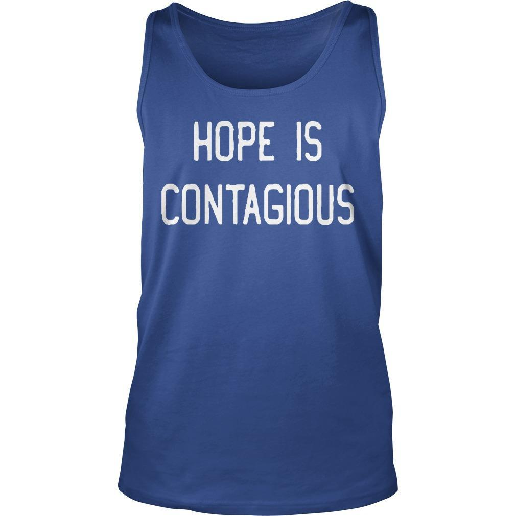 Steve Hofstetter Hope Is Contagious Tank Top