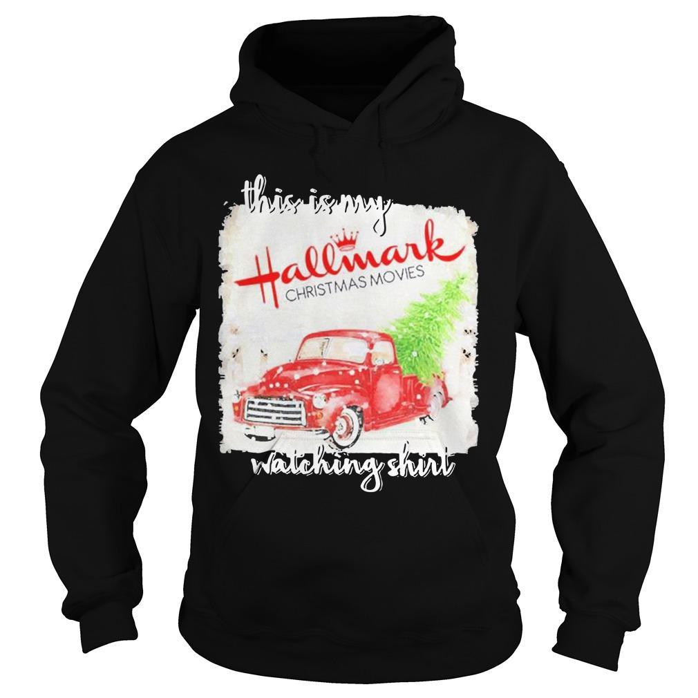 This Is My Hallmark Movie Watching Hoodie