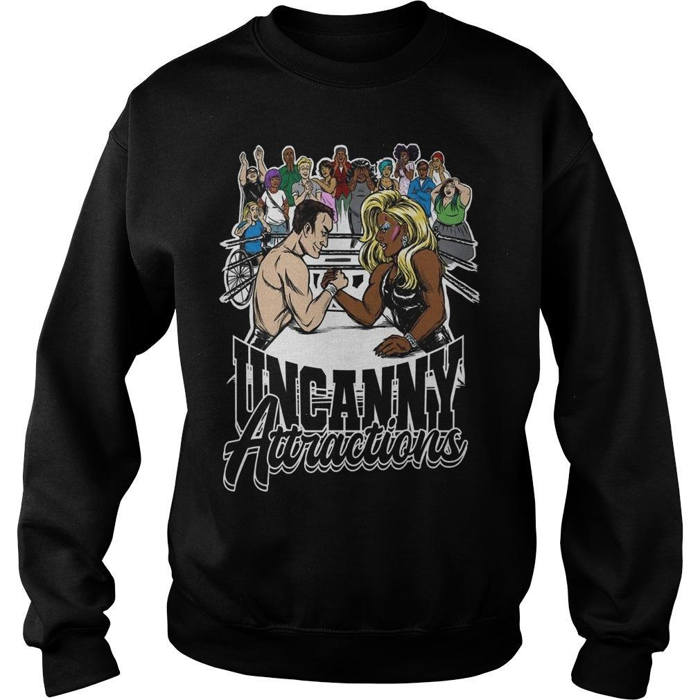 Uncanny Attractions Sweater