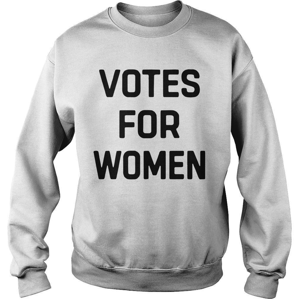 Votes For Women Women For Trump Sweater