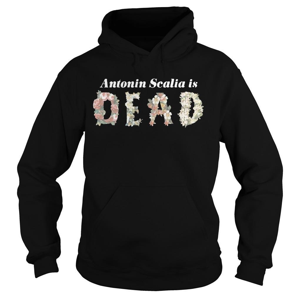 Antonin Scalia Is Dead Hoodie