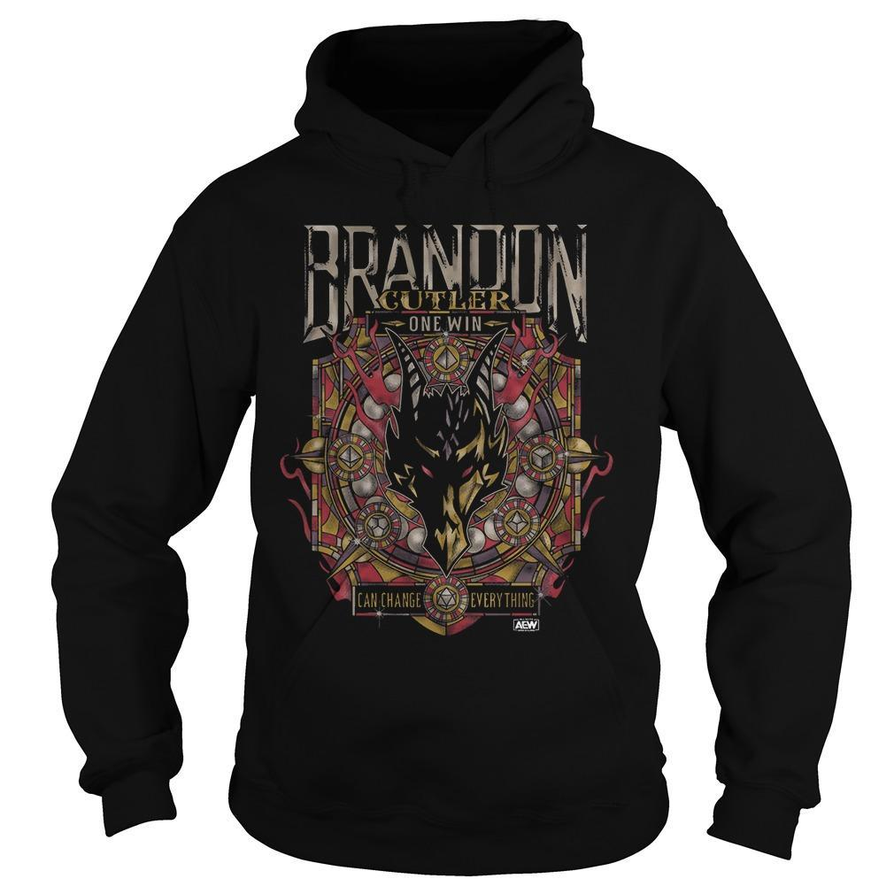 Brandon Cutler One Win Can Change Everything Hoodie