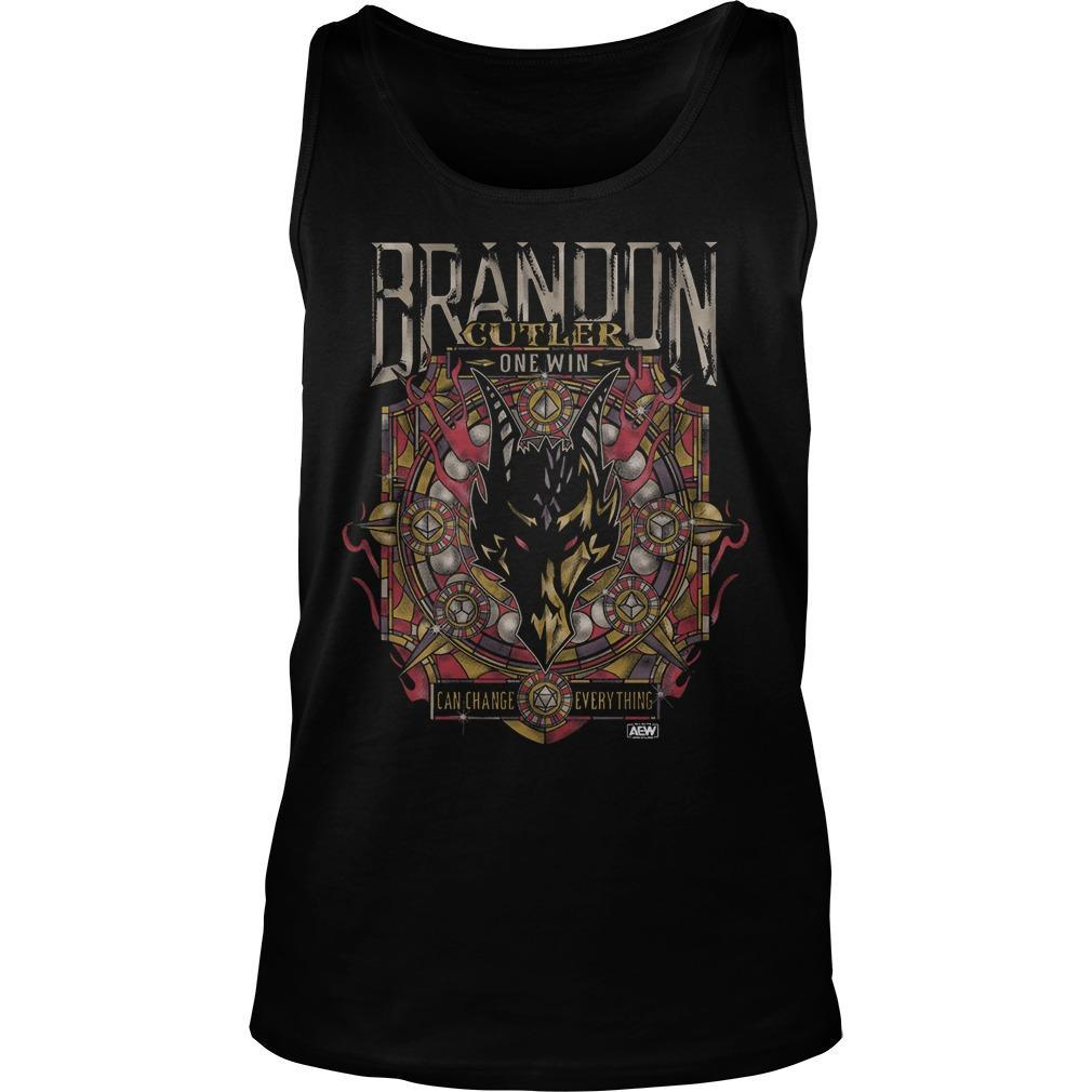 Brandon Cutler One Win Can Change Everything Tank Top