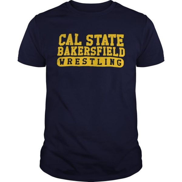 Cal State Bakersfield Wrestling Shirt
