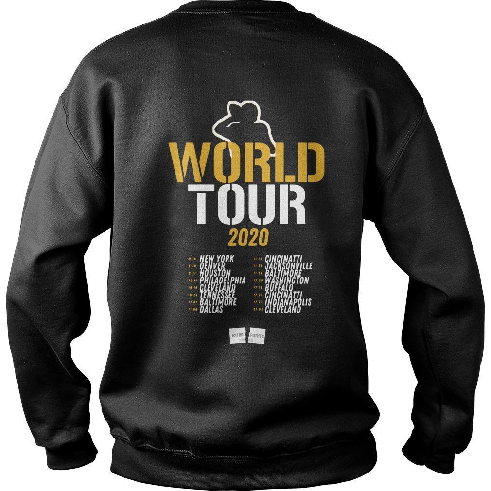 Dave Dameshek Sevenge World Tour 2020 Sweater