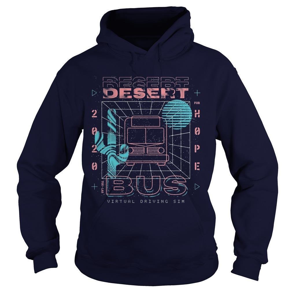 Fangamer 2020 Desert Bus For Hope Hoodie