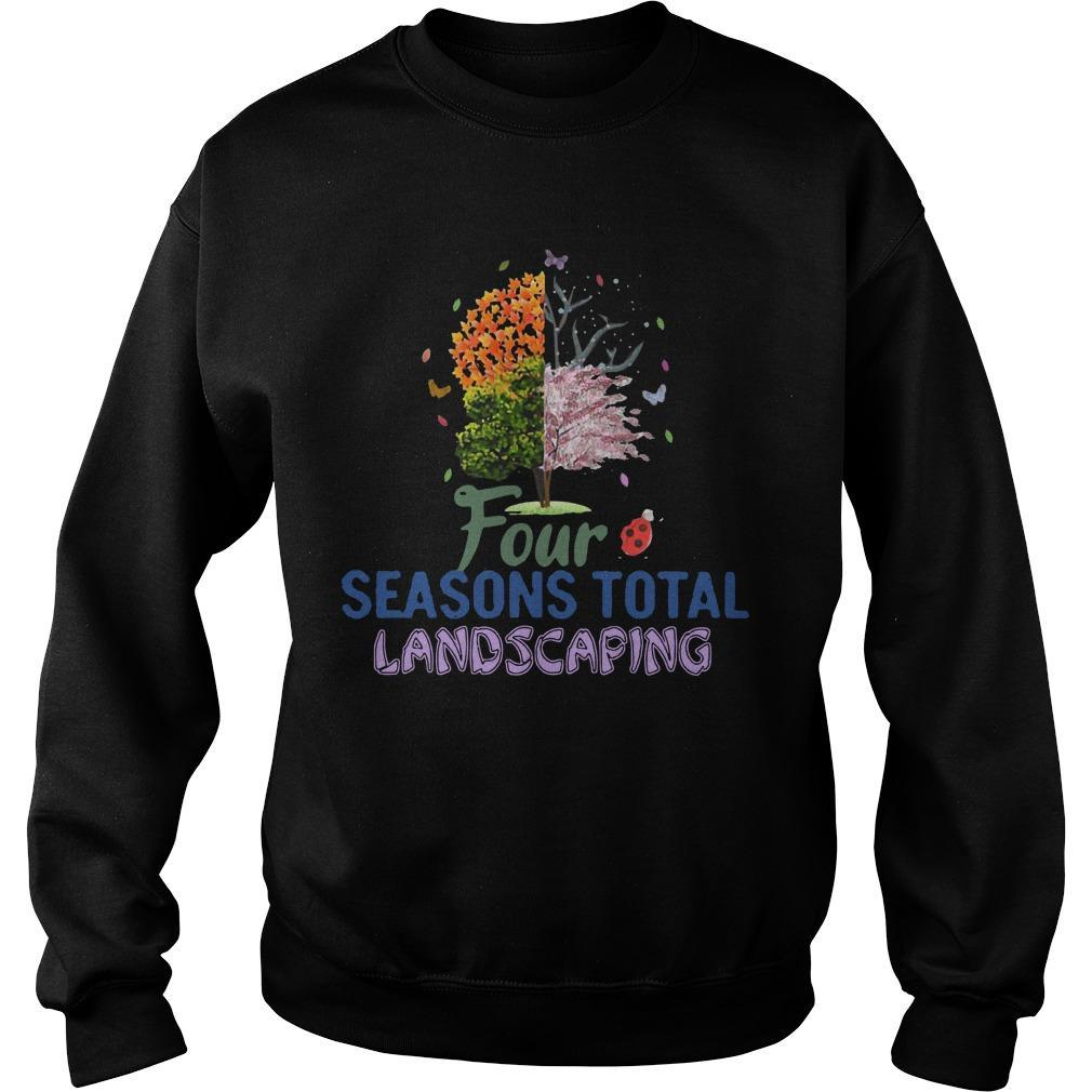 Four Seasons Total Landscaping Sweater
