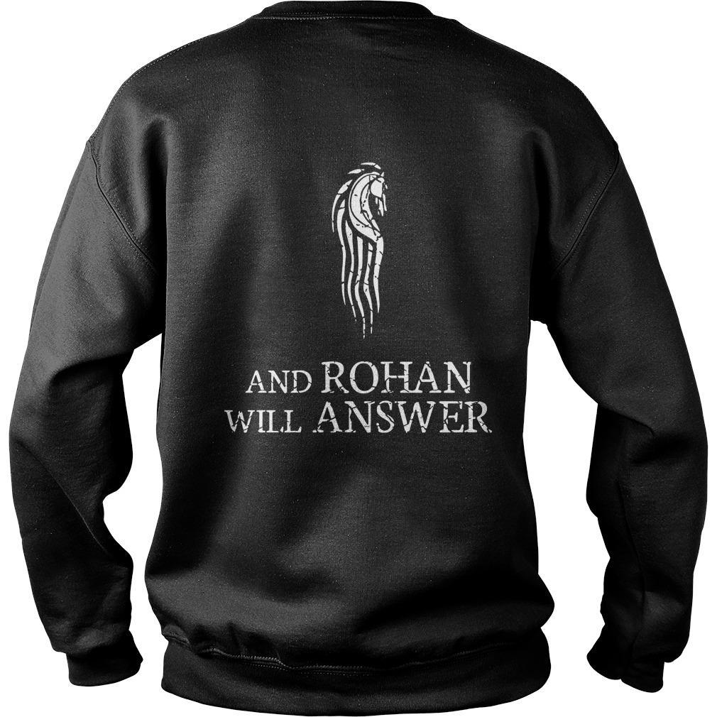 Gondor Calls For Aid And Rohan Will Answer Sweater