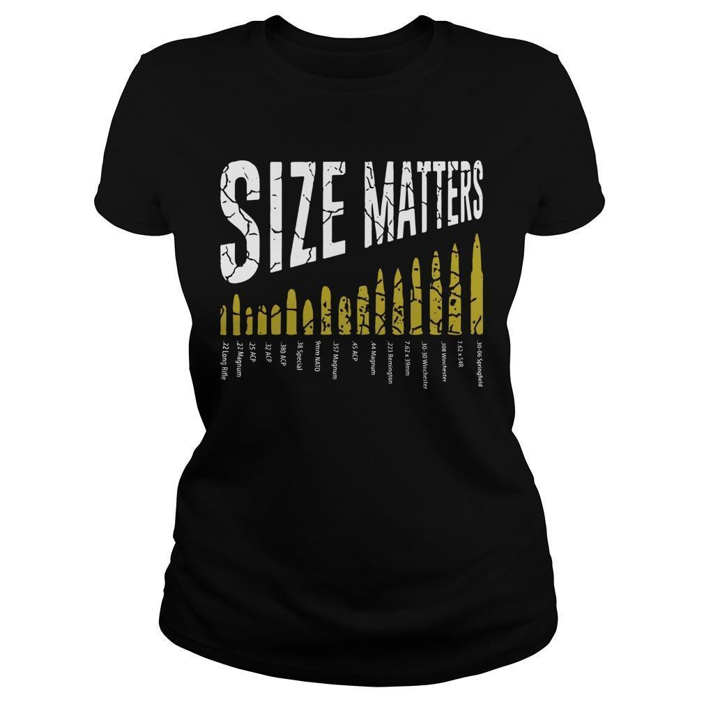 Gun Size Matters Longsleeve