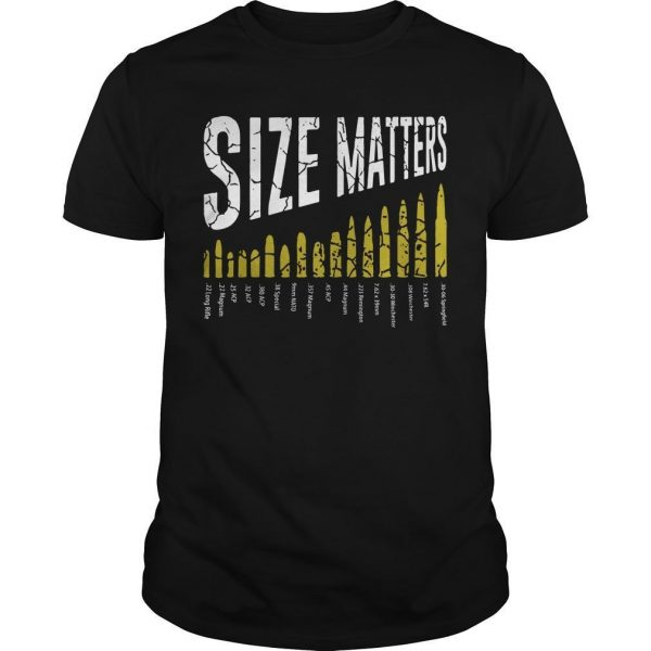 Gun Size Matters Shirt