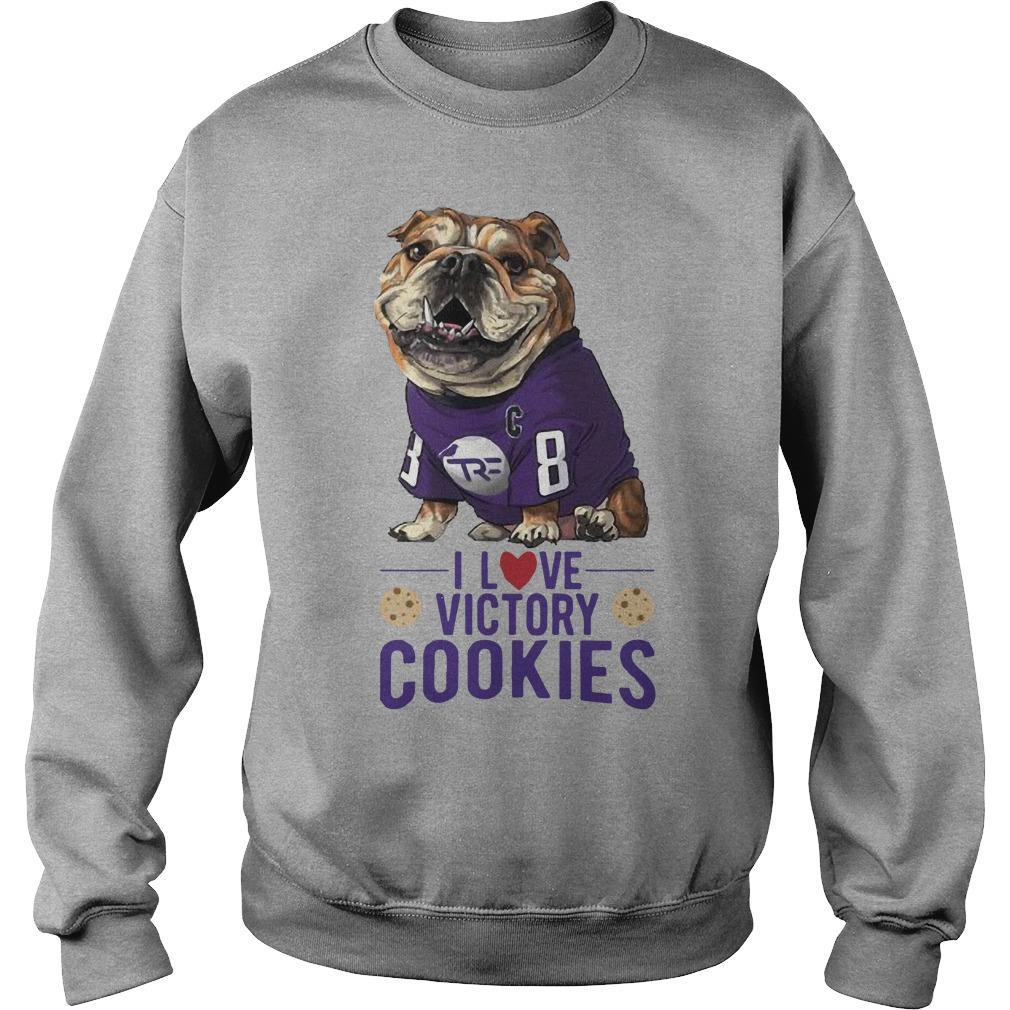 I Love Victory Cookies Sweater