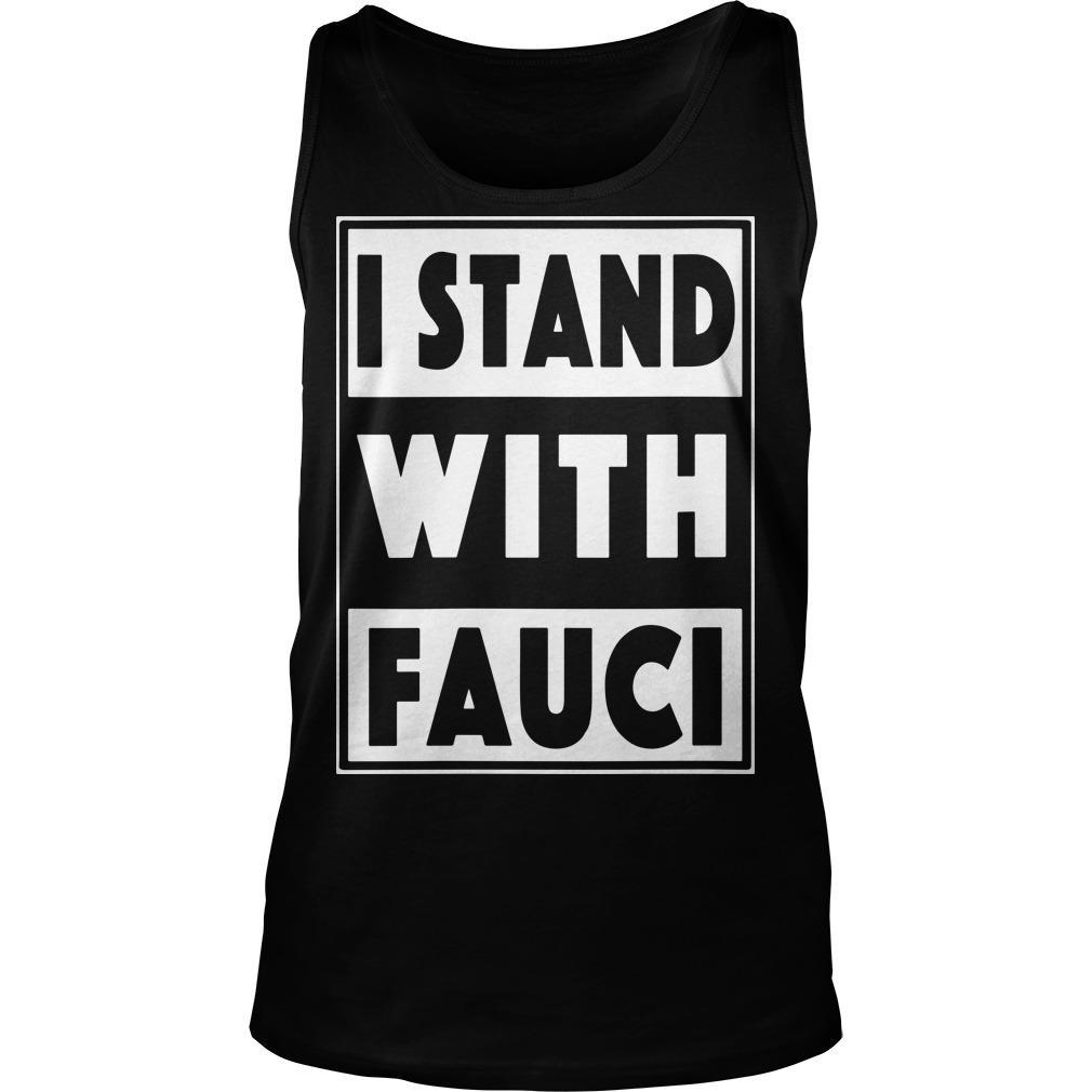 I Stand With Fauci T Amazon Tank Top