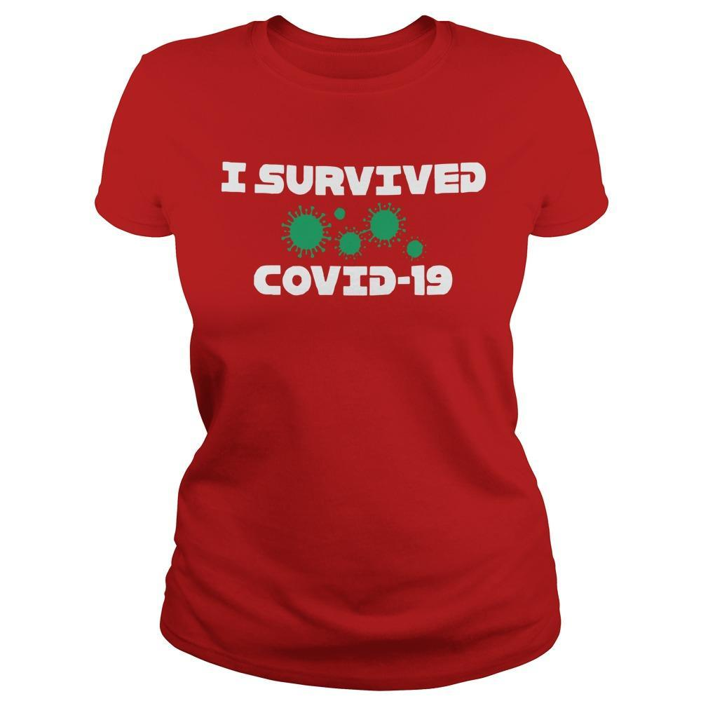 I Survived Covid 19 Longsleeve