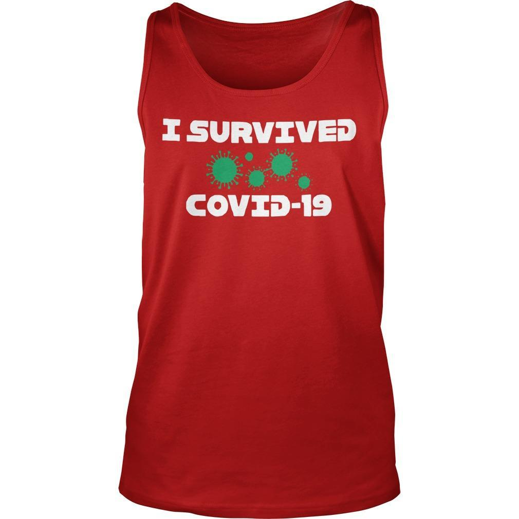 I Survived Covid 19 Tank Top