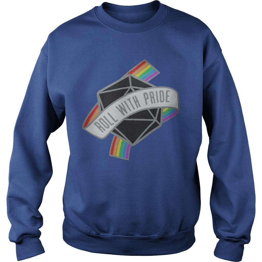 Lgbt Roll With Pride Sweater