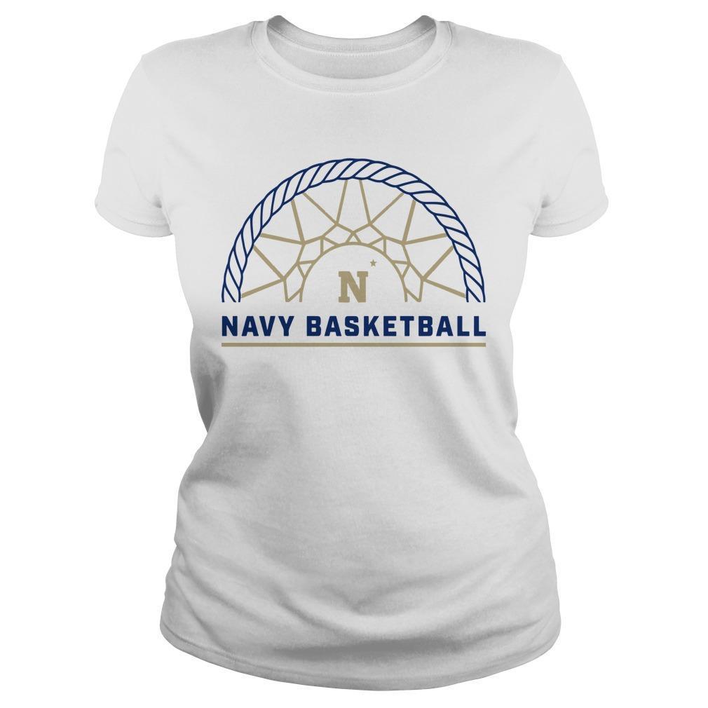 Navy Athletics Navy Basketball Longsleeve