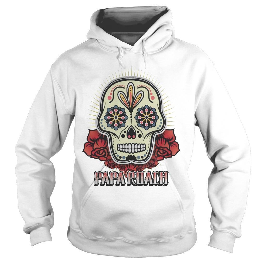Papa Roach Skull Hoodie