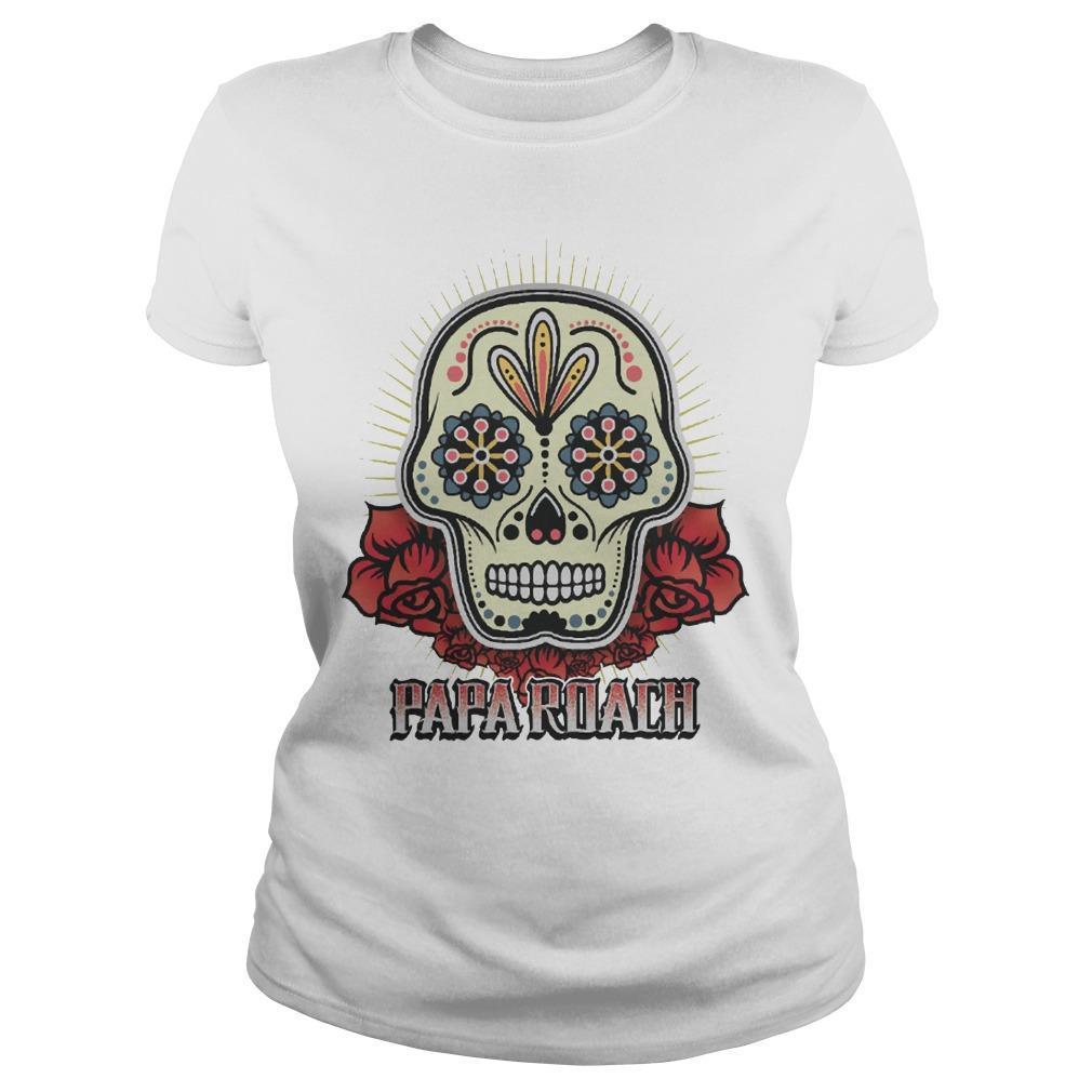 Papa Roach Skull Longsleeve