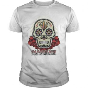 Papa Roach Skull Shirt