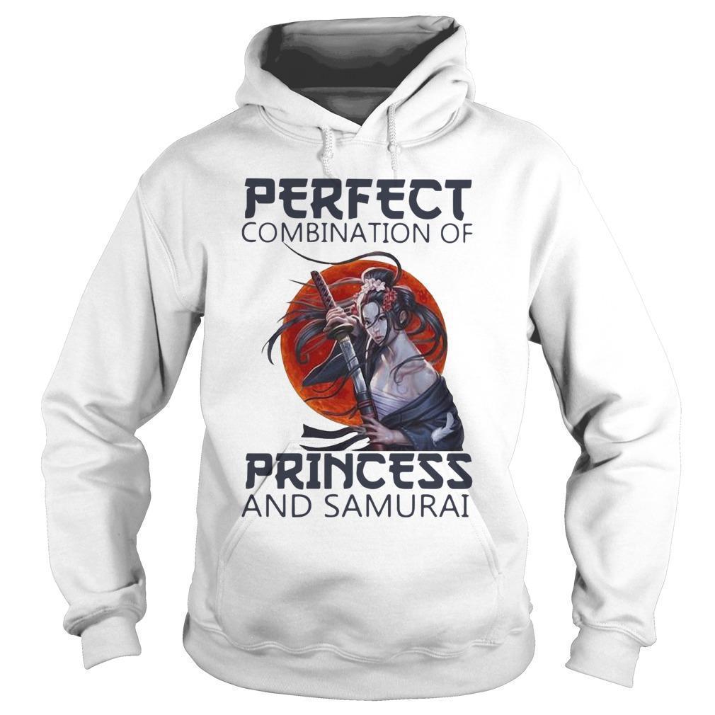 Perfect Combination Of Princess And Samurai Hoodie