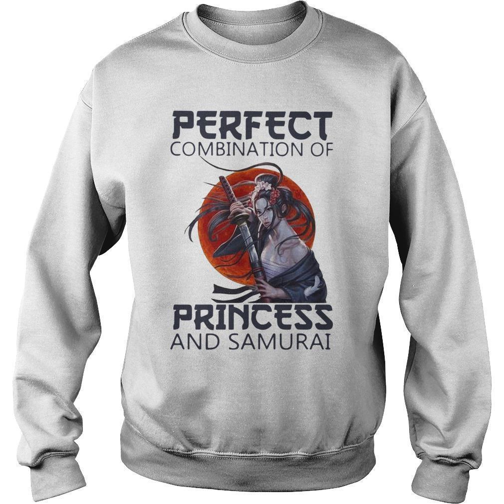 Perfect Combination Of Princess And Samurai Sweater