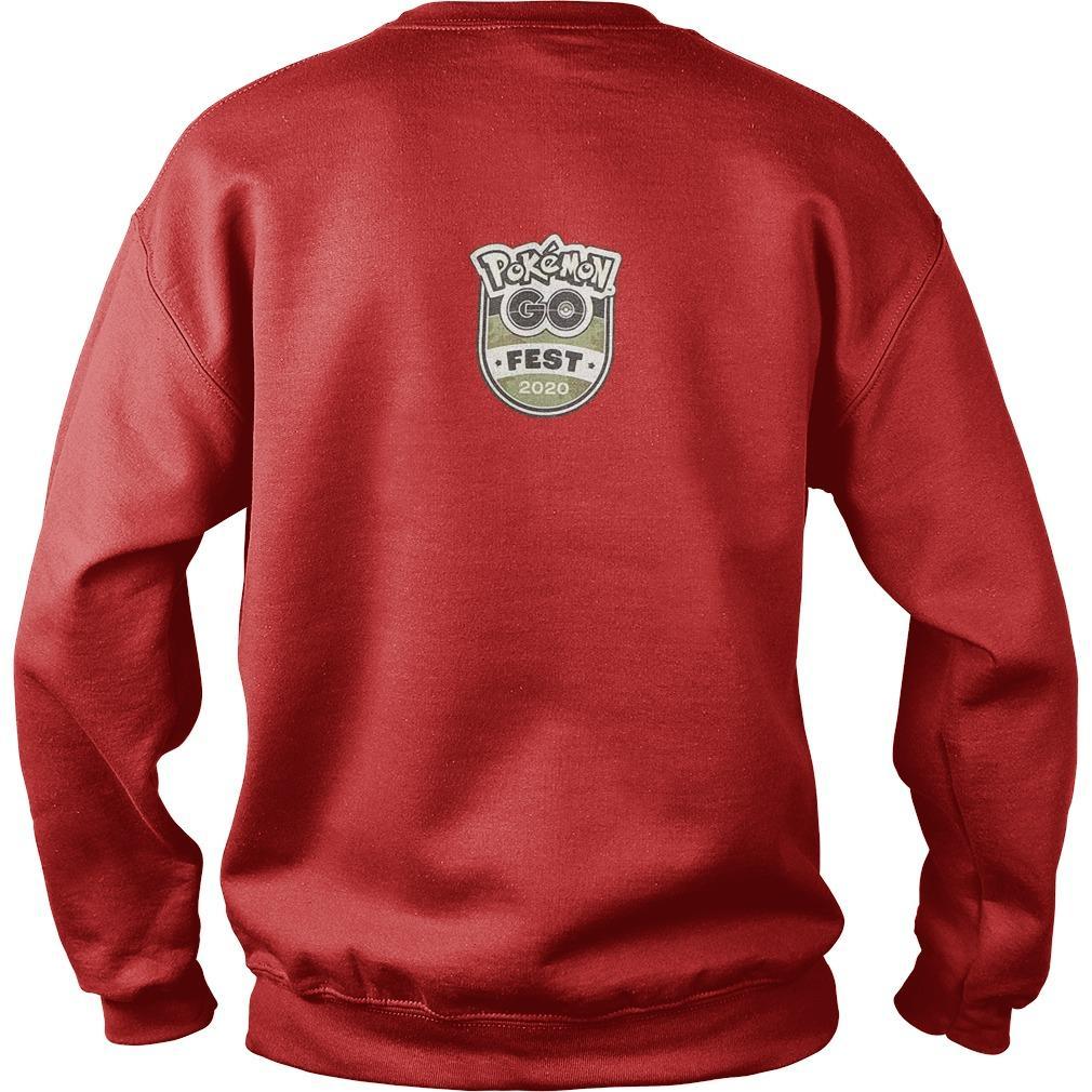 Pokemon Go Fest 2020 Sweater