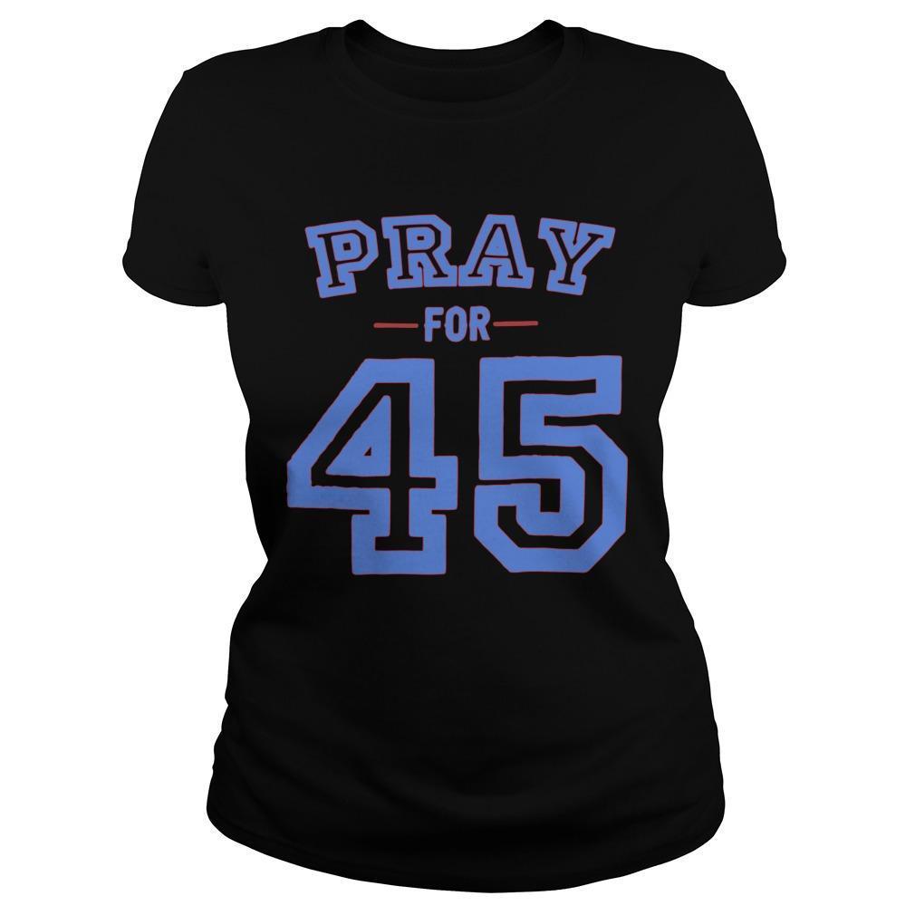 Pray For 45 Longsleeve