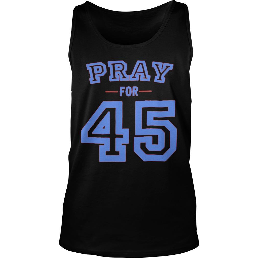 Pray For 45 Tank Top