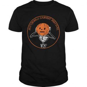 Pumpkin Pottsfield Harvest Festival Shirt