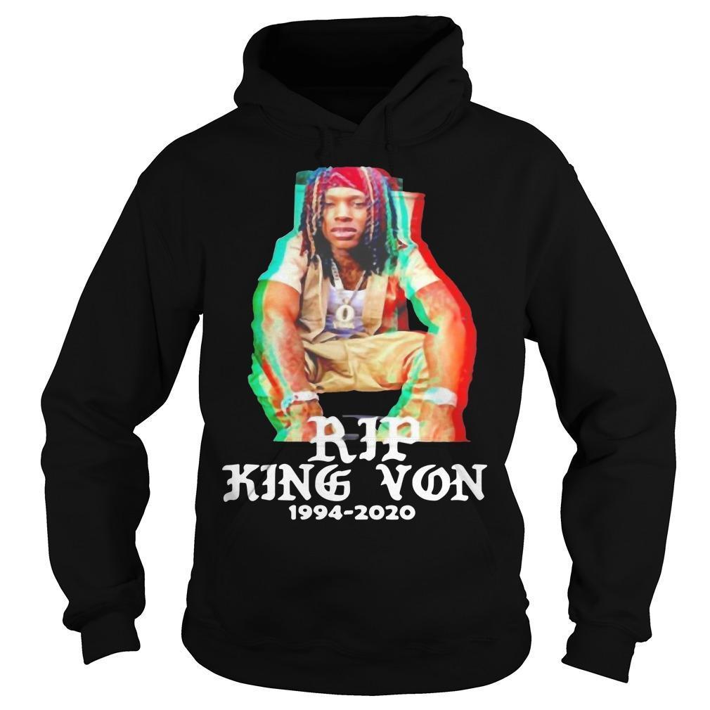 Rip 1994 2020 King Von Off Hoodie