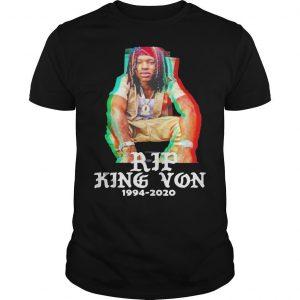 Rip 1994 2020 King Von Shirt Off