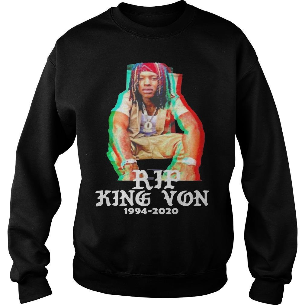 Rip 1994 2020 King Von Off Sweater