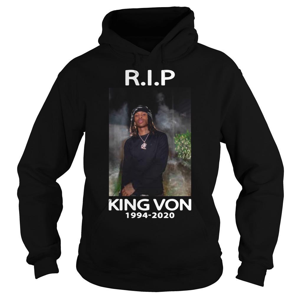 Rip King Von Hoodie