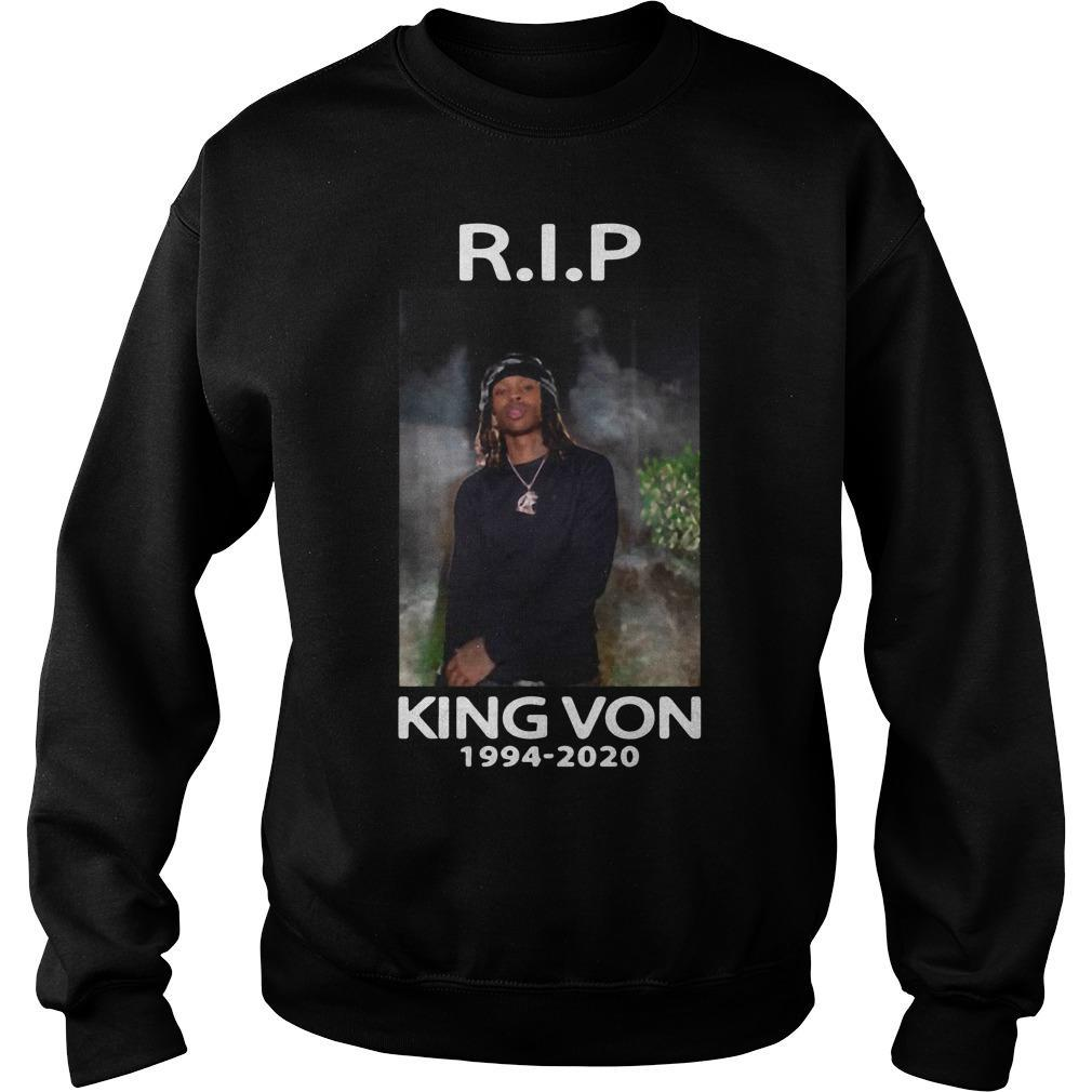 Rip King Von No Sweater