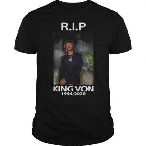 Rip King Von Shirt