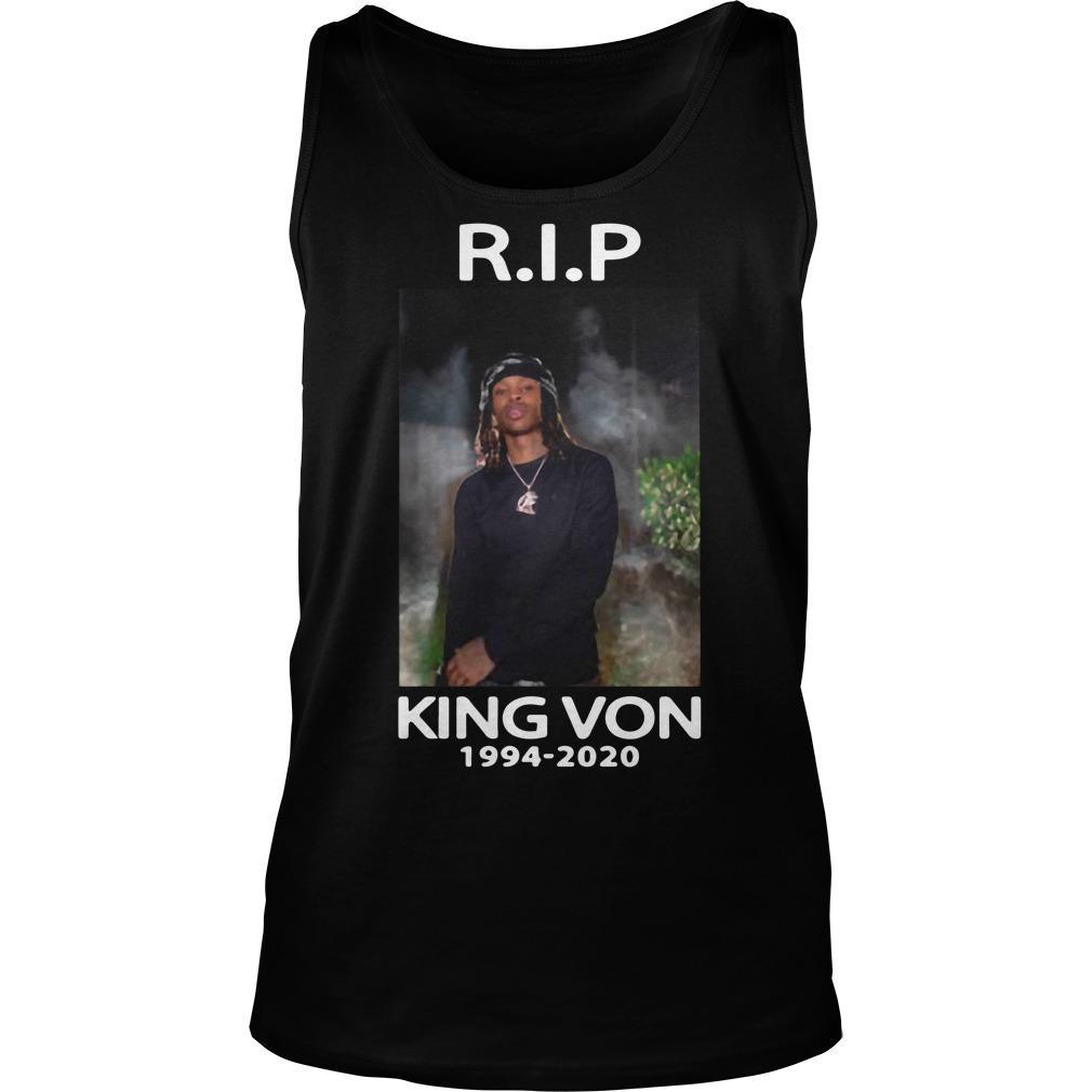Rip King Von Tank Top
