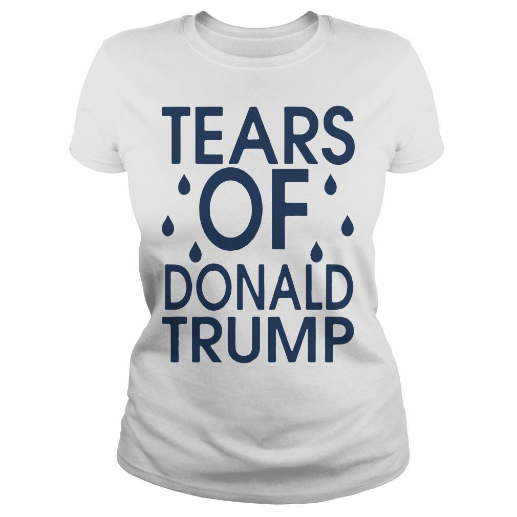 The Advocate Tears Of Donald Trump Longsleeve