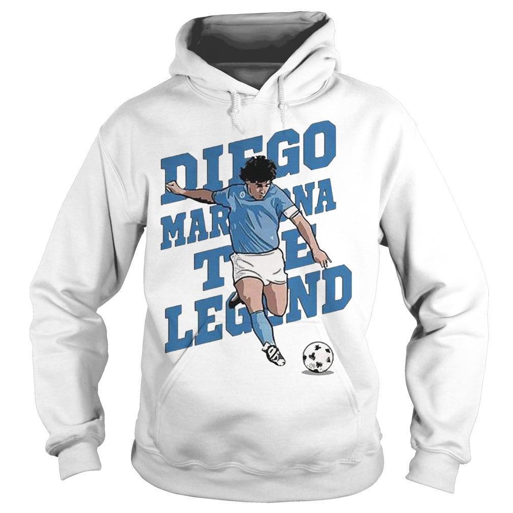 The Legend Diego Maradona Hoodie