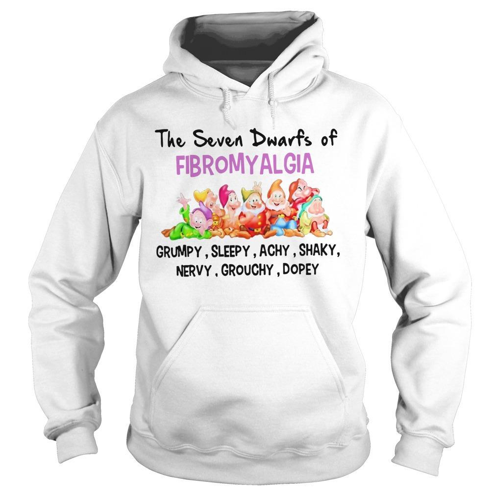 The Seven Dwarfs Of Fibromyalgia Grumpy Sleepy Achy Shaky Hoodie