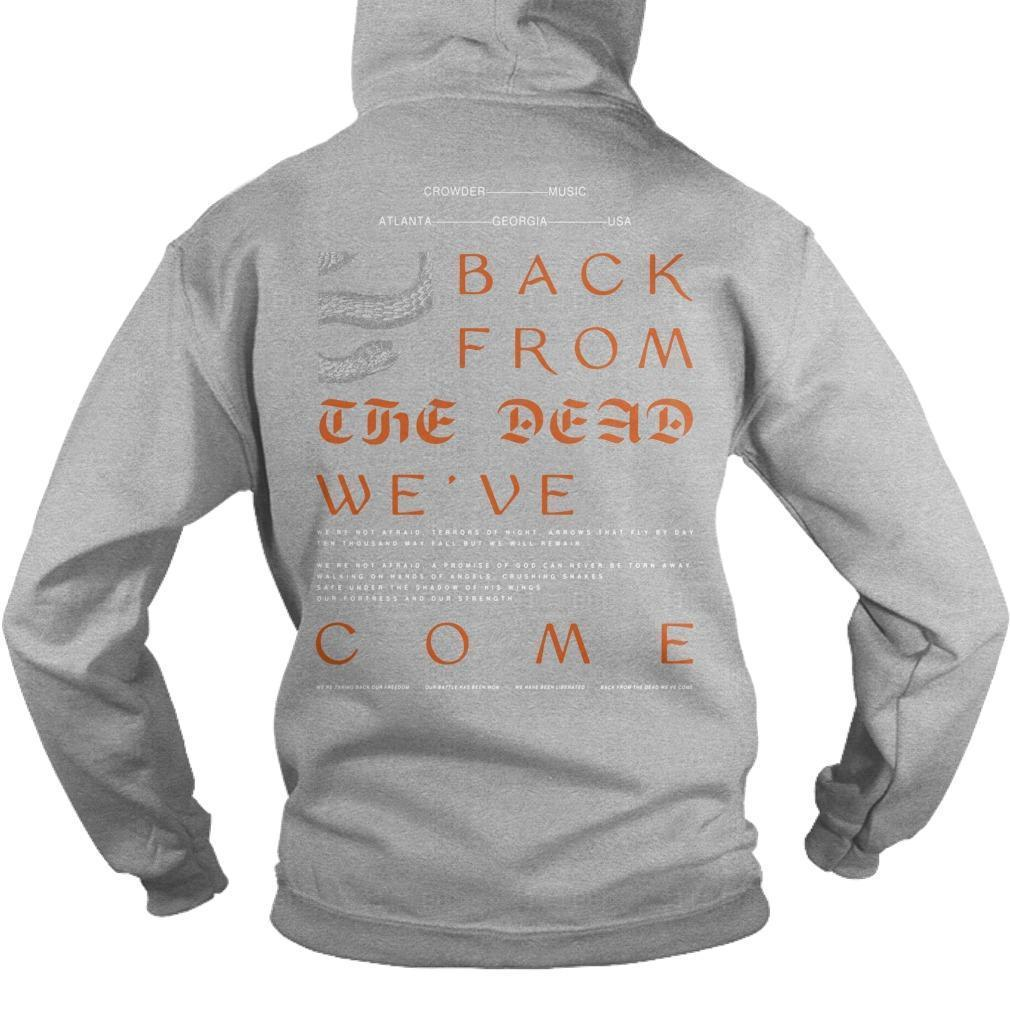 We're Taking Back Our Freedom Our Battle Has Been Won Hoodie