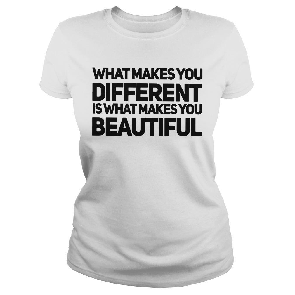 What Makes You Different Is What Makes You Beautiful Longsleeve