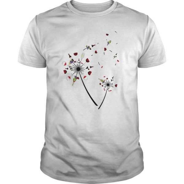 Wine Dandelion Shirt