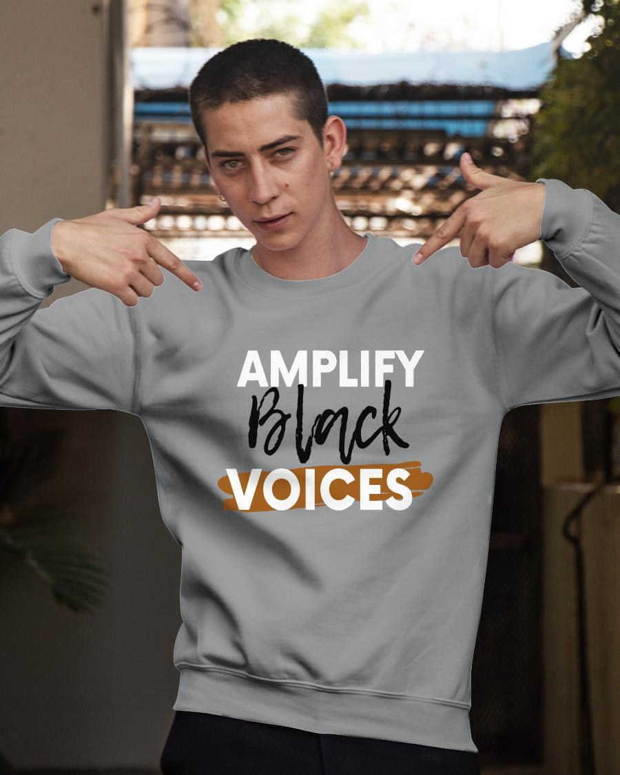 Amplify Black Voices Sweater