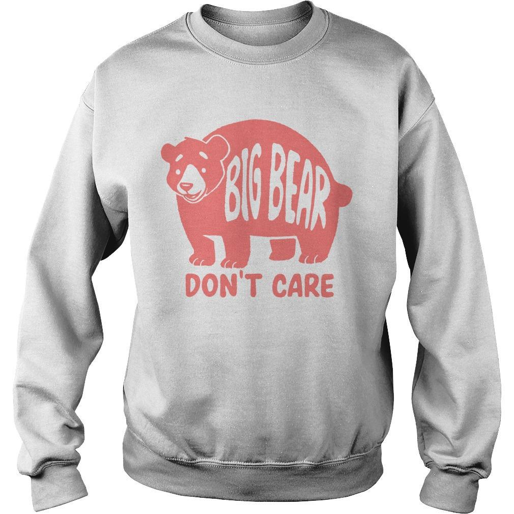Big Bear Don't Care Sweater