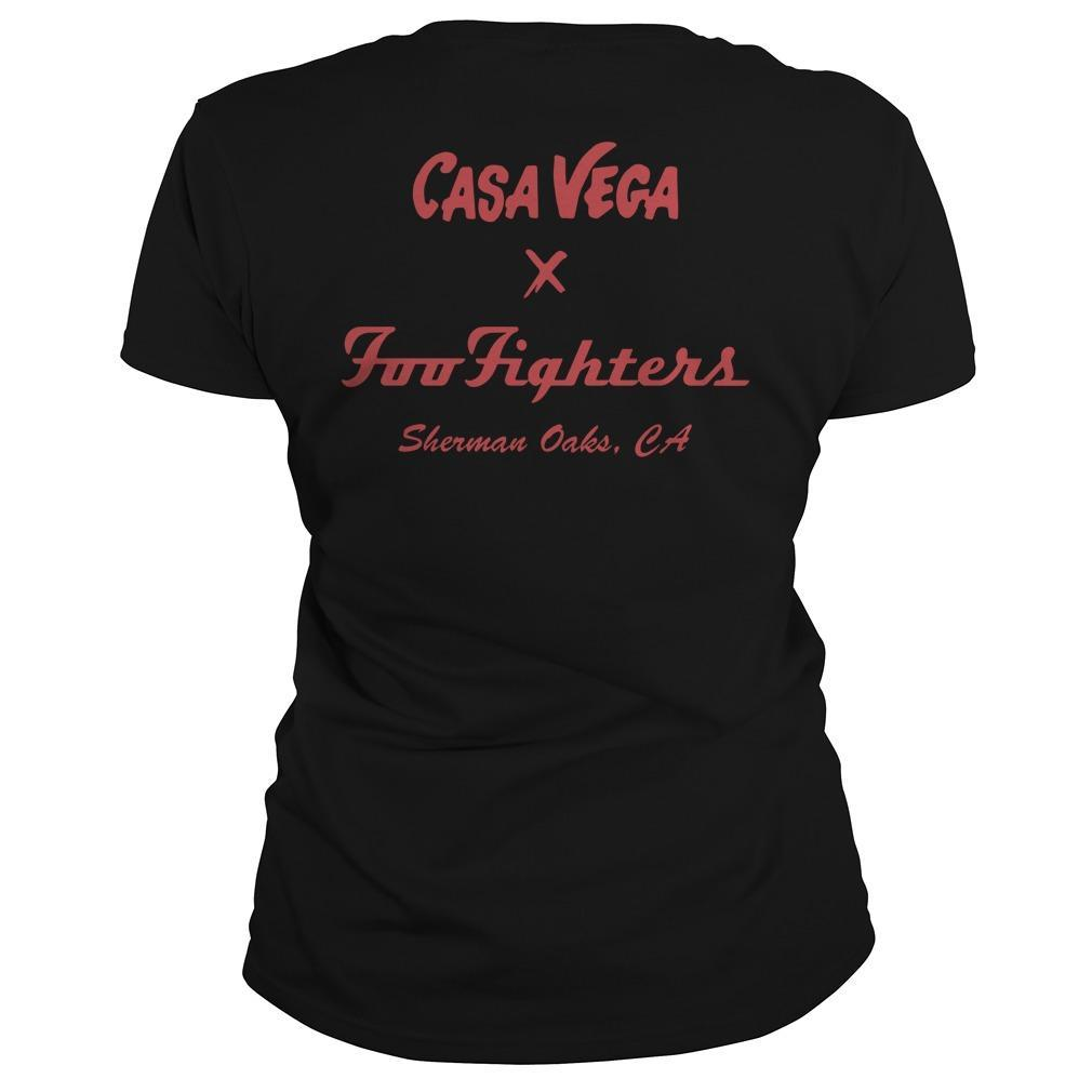 Casa Vega Foo Fighters Sherman Oaks Longsleeve