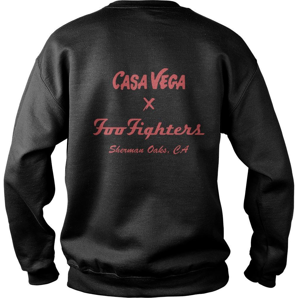 Casa Vega Foo Fighters Sherman Oaks Sweater