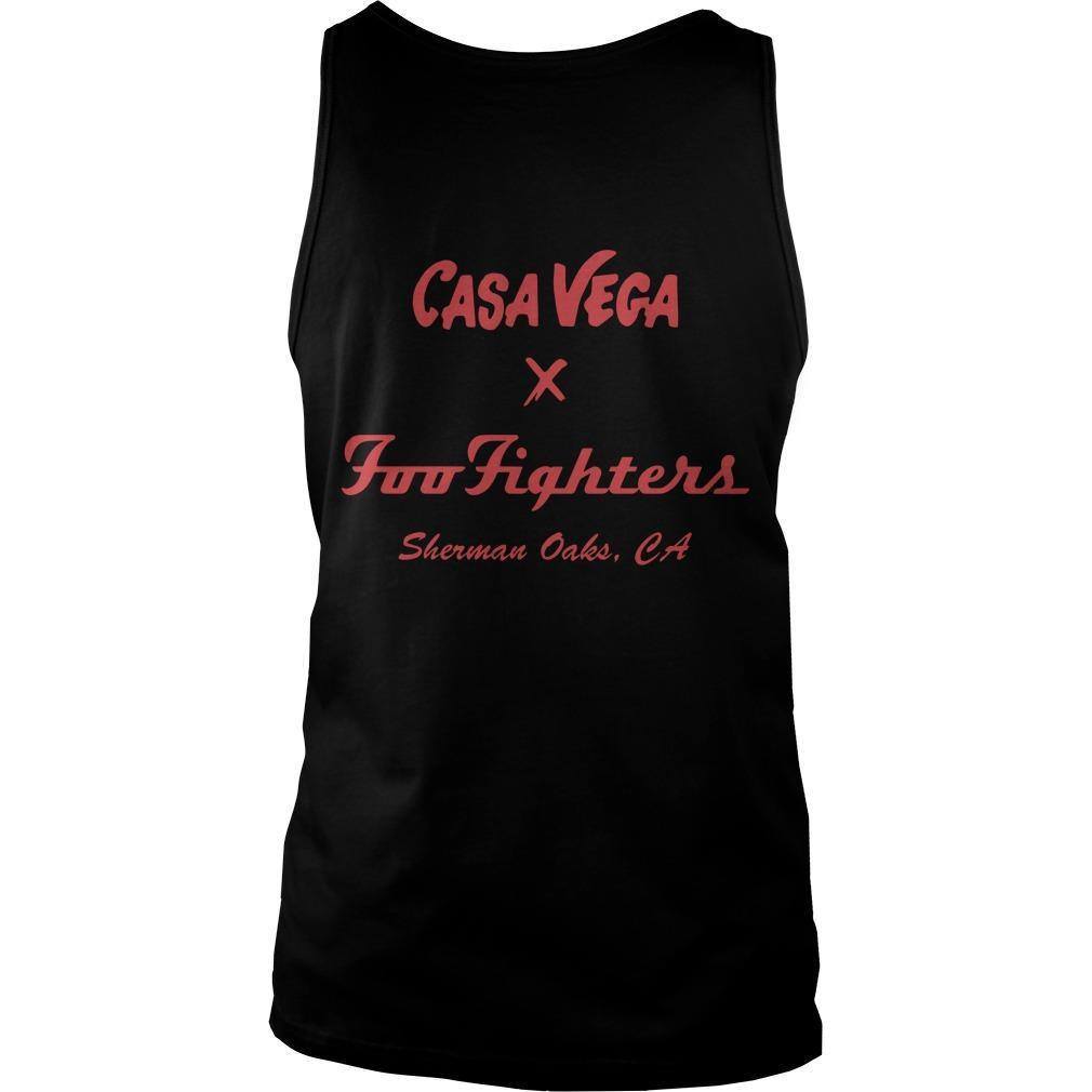Casa Vega Foo Fighters Sherman Oaks Tank Top