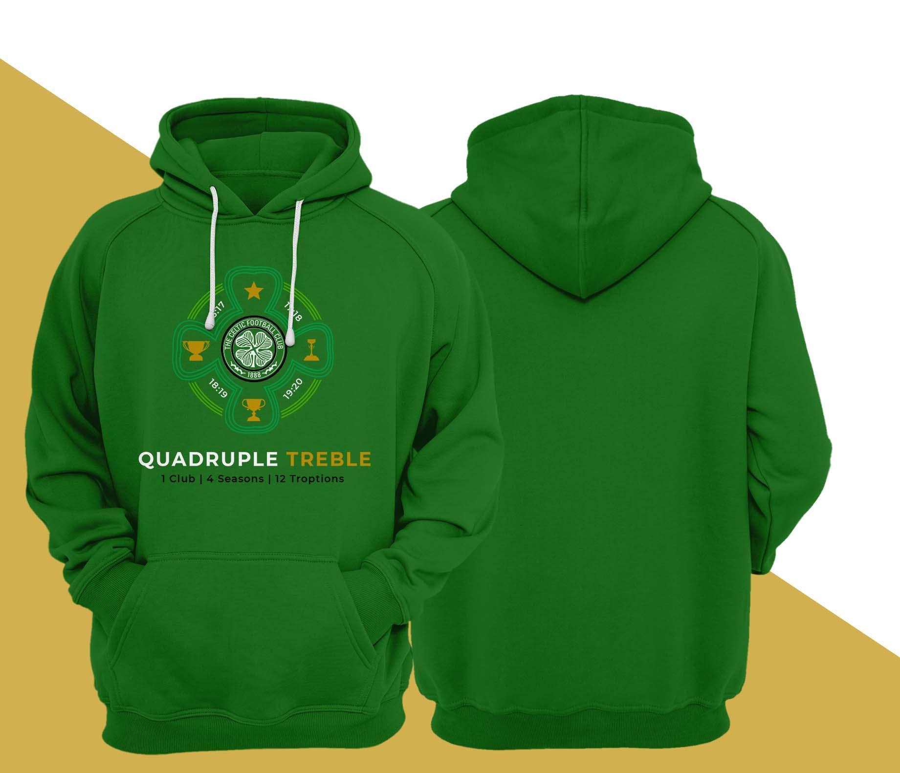 Celtic Quadruple Treble T Hoodie
